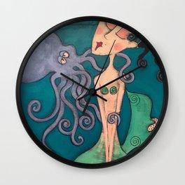 my octopus Wall Clock