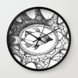 fish4 Wall Clock