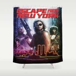 Escape From New York Shower Curtain