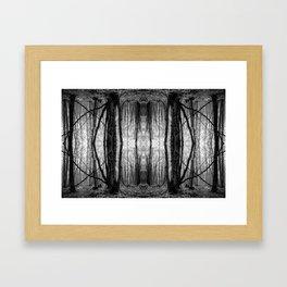 Dream weald Framed Art Print