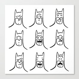 Bat Feels Canvas Print
