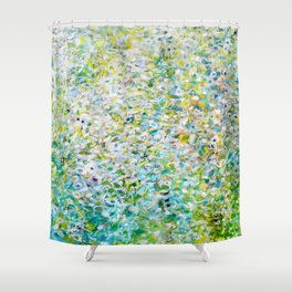To Live  Shower Curtain