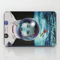 pilot iPad Cases featuring Miss Space Pilot by SEVENTRAPS