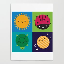 Happy Nature Poster