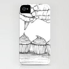 cupcake iPhone (4, 4s) Slim Case