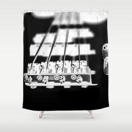 BASS GLOW Shower Curtain