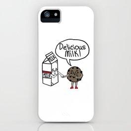 Delicious Milk iPhone Case