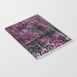 Van Gogh Trees & Underwood Pink Notebook