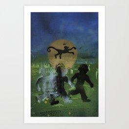 Ghost Boy Art Print