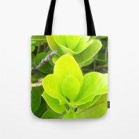 green lantern Tote Bags featuring Green Lantern by Françoise Reina