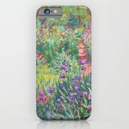 Claude Monet - The Artist's Garden in Giverny iPhone Case