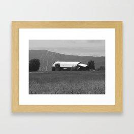 Bragg Barn Framed Art Print