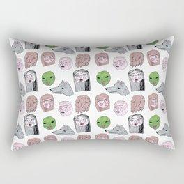 Friendly Nighbohood Monsters Rectangular Pillow