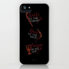 The easiest way... - Six of Crows iPhone Case