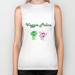 Veggie Police Biker Tank