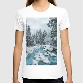 Blue Winter in Yosemite T-shirt