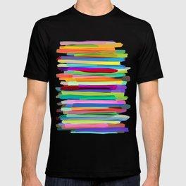 Colorful Stripes 1 T-shirt