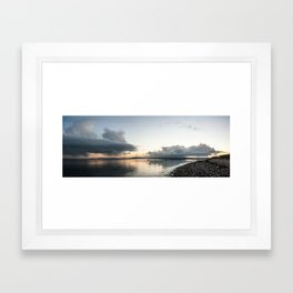 galway bay Framed Art Print
