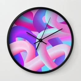 digital dream Wall Clock