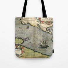 The Pacific Ocean 1589 Tote Bag