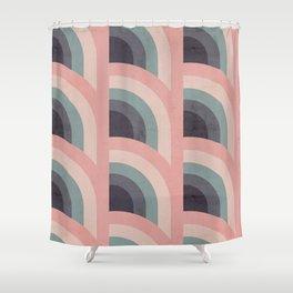 Rainbow Pattern Shower Curtain