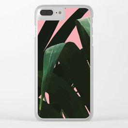 Tropikal Inspo Clear iPhone Case