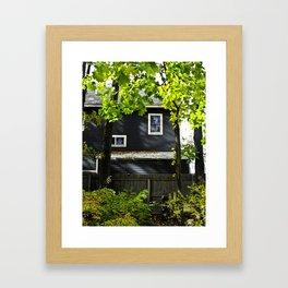 Orange House Framed Art Print