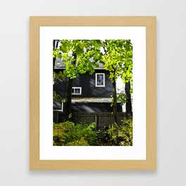 Orange House Framed Art Print