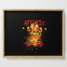 Atomic, hot and  Blond | Girl Power Serving Tray