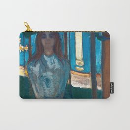 Edvard Munch - The Voice, Summer Night Carry-All Pouch