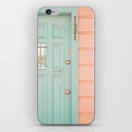 Pastel House iPhone Skin