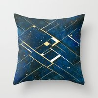 constellation Throw Pillows featuring :: Constellation ::  by Antonio Holguin