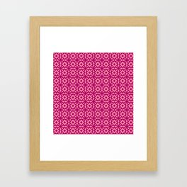 Pinkflower Framed Art Print