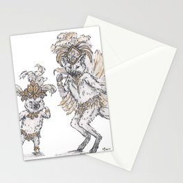 Tiny Dancer - Samba Stationery Cards