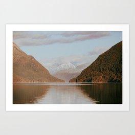 Alouette Lake Art Print