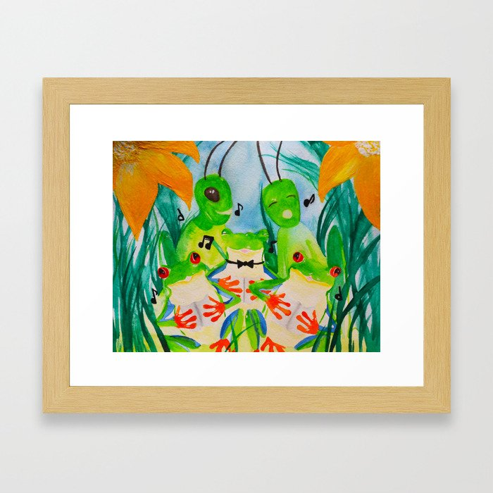 Choir Framed Art Print