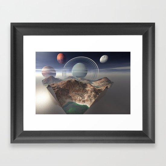 Bay of Jupiter Framed Art Print