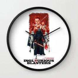 Inglourious Blasters Wall Clock