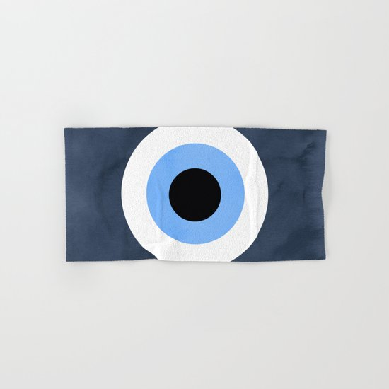 Evil Eye Hand & Bath Towel