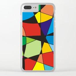 True colors no.84 Clear iPhone Case