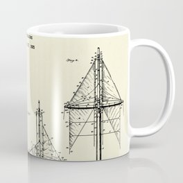 Ship's Rigging-1927 Coffee Mug