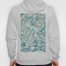 White Nile Marbled Paper Hoody