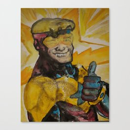 Booster Gold Canvas Print