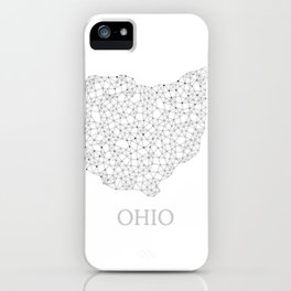 Ohio LineCity W iPhone Case
