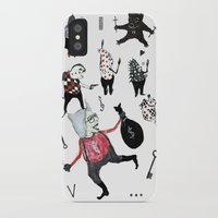 allyson johnson iPhone & iPod Cases featuring Minis Johnson by Franck Chartron