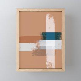 Abstact pattern Framed Mini Art Print