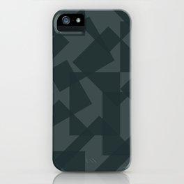 grey pattern // geometric iPhone Case