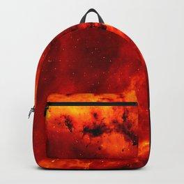 Rosette Nebula Space Photography Backpack