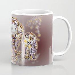 Elephant Mom Coffee Mug