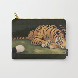 Tiger in Waiting Carry-All Pouch